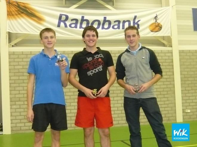 V.l.n.r. Joost Zagt, Rick Romijn en Rolf Janzen.