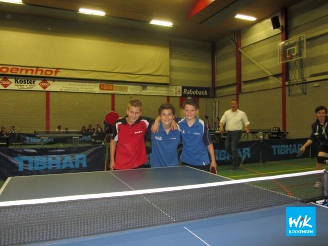 V.l.n.r. Ivo de Hoop, Nick van Dijk en Jorn Woltman