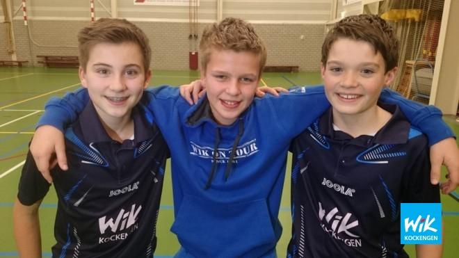 Nick van Dijk, Ivo de Hoop en Jorn Woltman