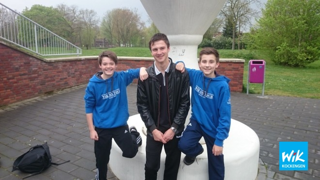 Jorn, Joost en Nick