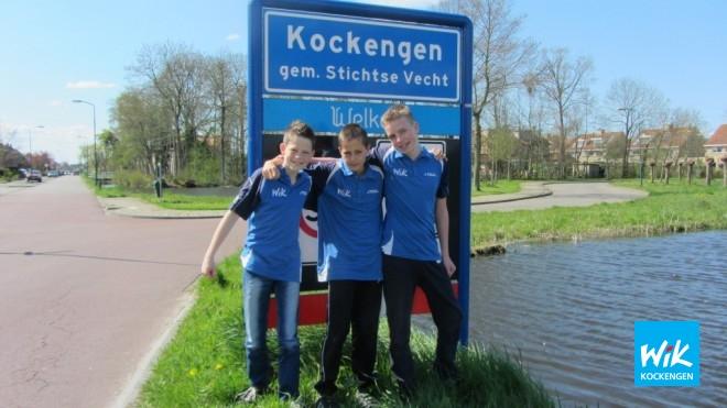 Sander, Teun en Chiel