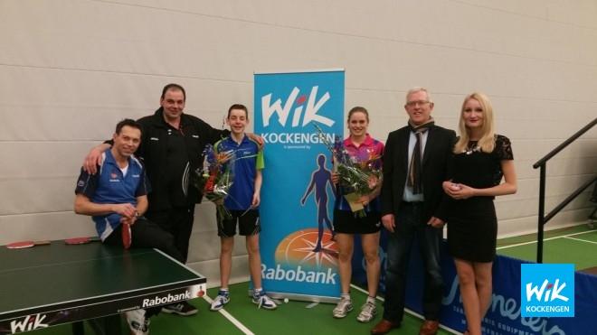 Op foto: V.l.n.r. Ronald Verleun, Henry en Tim van der Leeden, Jacintha de Hoop, Ruud Kwakkenbos en Vita Bon.