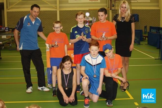 Groep 8: Jens Boekel(1e), Thijs Boele(2e), Ivar de Lange(3e).