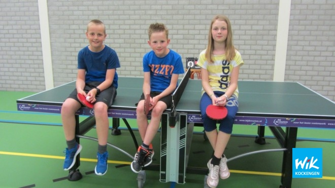 V.l.n.r. Coen van Asselt, Kevin Mulder en Esmee Boekeloo.